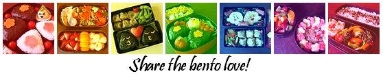 Cooking Cute: a bento site [Share the bento love colorbar]